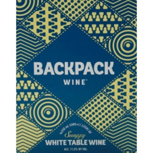 Backpack Snappy White 4-pack Cans
