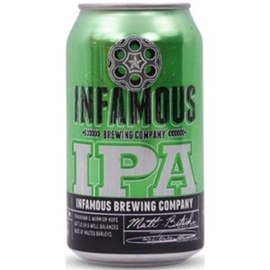 Infamous Brewing IPA • Cans